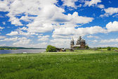 Transfiguration Church on Kizhi island — Stock Photo
