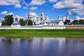 Spaso-Prilutsky monastery on the Vologda river — Stock Photo