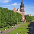 Cathedral on the island of Kant in Kaliningrad — Stock Photo