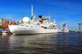 船舶在加里宁格勒的宇航员维克托 · patsayev — 图库照片