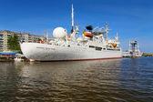 Ship Cosmonaut Viktor Patsayev in Kaliningrad — Stock Photo