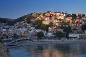 Ulcinj at sunset, Montenegro — Stock Photo