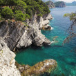 Coast near the Petrovac, Montenegro — Stock Photo