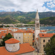 Budva Old Town, Montenegro — Stock Photo