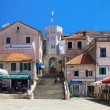 Stock Photo: The square in Herceg Novi, Montenegro