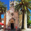 Church of Archangel Michael in Herceg Novi — Foto Stock