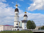 Church of Assumption of the Virgin Mary in Arkhangelsk — Stockfoto