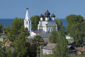 Church of Savior All-Merciful in Belozersk, Russia — Foto de Stock