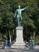 Statue of Charles XII in Stockholm, Sweden — Stock Photo