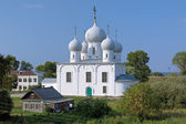 Transfiguration Cathedral in Belozersk Kremlin — Stock Photo