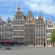 Guild buildings in Antwerp, Belgium — Stock fotografie