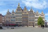Guild buildings in Antwerp, Belgium — Stock Photo