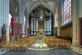 Sacrament chapel in Cathedral of Our Lady in Antwerp, Belgium — Stock Photo