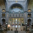 Entrance hall of the Antwerp Central train station — ストック写真
