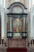 アントワープ、ベルギーの聖母の大聖堂の祭壇 — ストック写真
