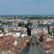 Big panorama of Strasbourg, France — Stock Photo