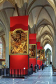 Paintings of Peter Paul Rubens in Antwerp Cathedral — Stockfoto