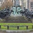 Постер, плакат: Hubert and Jan van Eyck Monument in Ghent Belgium