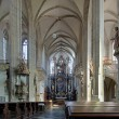 Interior of St. James Church in Kutna Hora, Czech Republic — Stock Photo