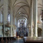Interior of St. James Church in Kutna Hora, Czech Republic — Stock Photo