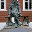 Monument of Pyotr Kropotkin in Dmitrov, Russia — Stock Photo