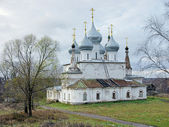 Cathedral of the Holy Cross Exaltation in Tutaev, Russia — Stock fotografie