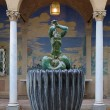 Stock Photo: Little Triton Fountain in Millesgarden sculpture garden in Stockholm
