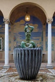 Little Triton Fountain in Millesgarden sculpture garden in Stockholm — Stock Photo