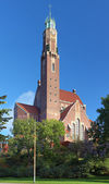 Engelbrekt Church in Stockholm, Sweden — ストック写真