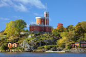 Small Castle on Kastellholmen island in Stockholm — Stock Photo