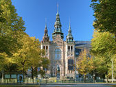 Facade of the Nordic Museum Building in Stockholm, Sweden — Stock Photo