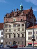 Rathaus Plzen, Tschechische Republik — Stockfoto