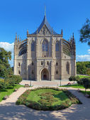 St. Barbara's Church in Kutna Hora, Czech Republic — Стоковое фото