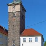 The Black Tower in Plzen, Czech Republic — Stock Photo