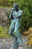 The Man Praying sculpture in Millesgarden, Stockholm — Stock Photo