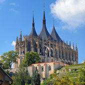 St. Barbara's Church in Kutna Hora, Czech Republic — Foto Stock
