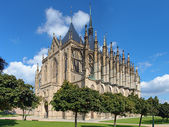 St. Barbara's Church in Kutna Hora, Czech Republic — Stockfoto