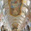 Stock Photo: Interior of St. Emmeram's Basilicin Regensburg, Germany