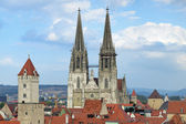Regensburg Cathedral, Germany — Stock Photo