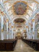 Interior of Old Chapel in Regensburg, Germany — Stock Photo
