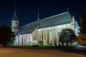 Koenigsberg Cathedral in the night, Russia — Stock Photo