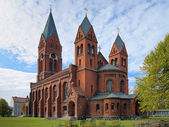 Cathedral of Saint Michael Archangel in Chernyakhovsk, Russia — Stock Photo