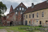 Ruins of the Castle Insterburg in Chernyakhovsk, Russia — Stock Photo