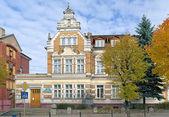 Building of the Children's Music School in Chernyakhovsk, Russia — Stock Photo