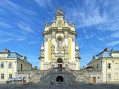 St. George's Cathedral in Lviv, Ukraine — Stock Photo