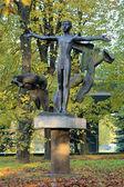 Get Naked sculpture (Monument of Nudist) in Kaliningrad, Russia — Zdjęcie stockowe