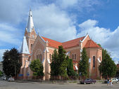 Cathedral of Saint Martin in Mukacheve, Ukraine — Stock Photo