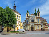 Collegiate Church of Virgin Mary in Ivano-Frankivsk, Ukraine — Stock Photo
