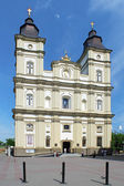 Cathedral of the Resurrection in Ivano-Frankivsk, Ukraine — Stock Photo