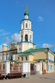 Church of the Intercession and Belfry in Kazan — Stock Photo